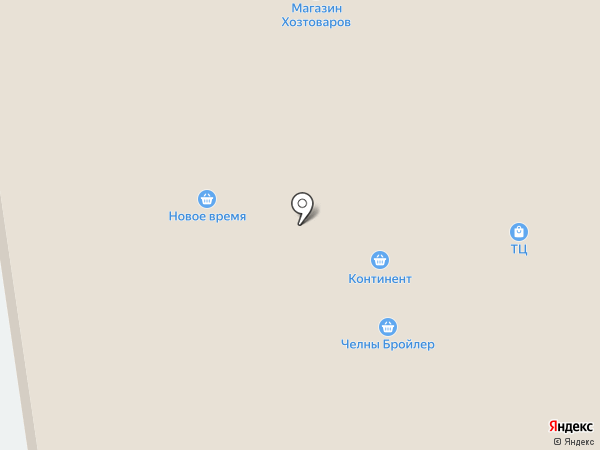 Гастроном на карте Булгаково