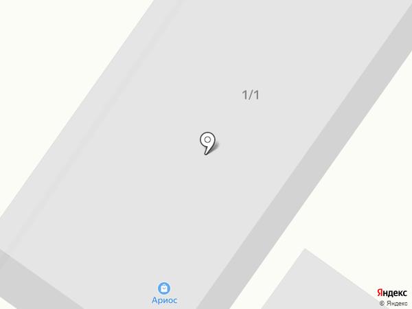 Ариос на карте Новой Отрадовки