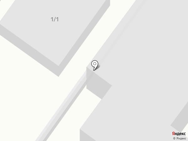 А-гараж на карте Новой Отрадовки