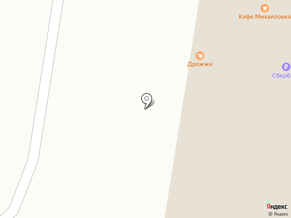 Маяк на карте Михайловки