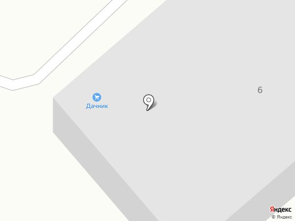 Дачник на карте Михайловки