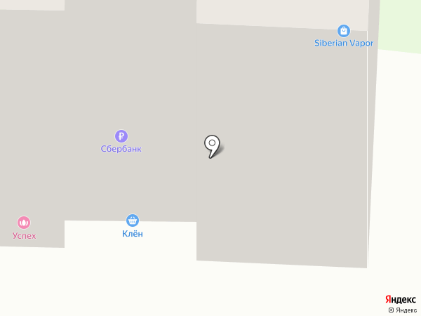 Клён на карте Стерлитамака