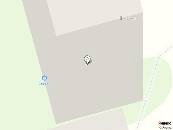 Сказка на карте Мариинского