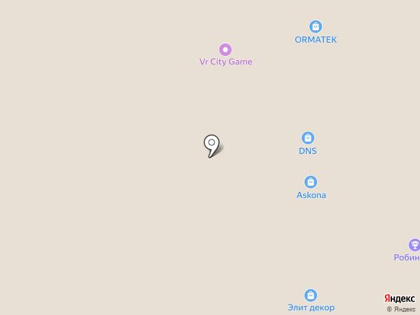 Шубный на карте Стерлитамака