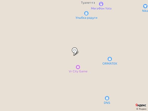 Орматек на карте Стерлитамака