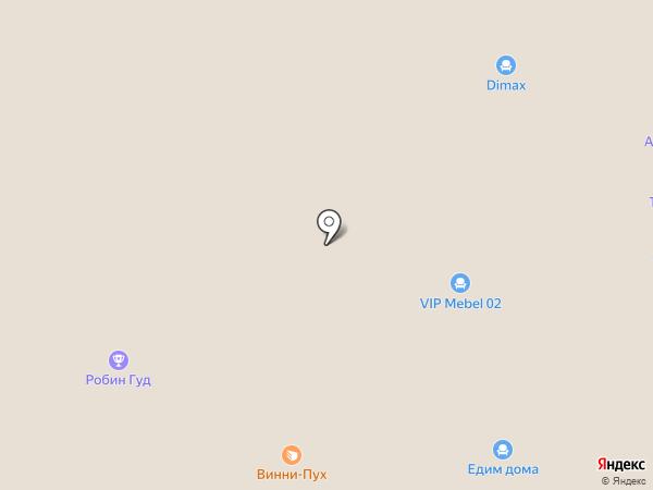 Салон мебели на карте Стерлитамака