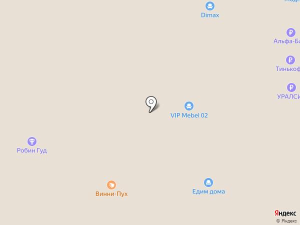 Алковар на карте Стерлитамака