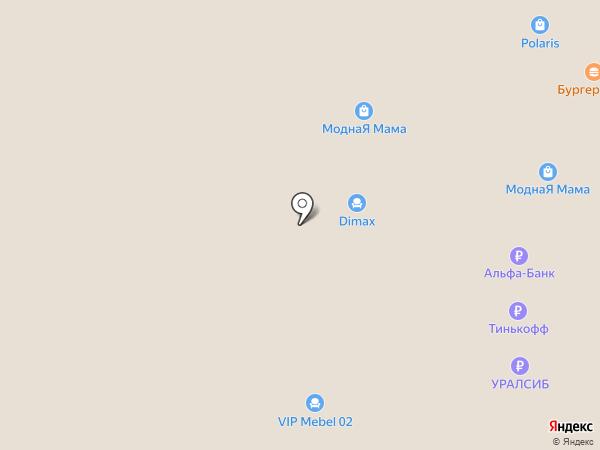 Конфетти на карте Стерлитамака