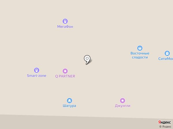 Джунгли на карте Стерлитамака