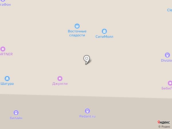 Ангстрем на карте Стерлитамака