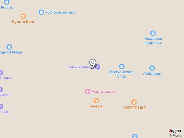 BODYBUILDING SHOP на карте Стерлитамака