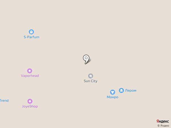 Солнышко на карте Стерлитамака