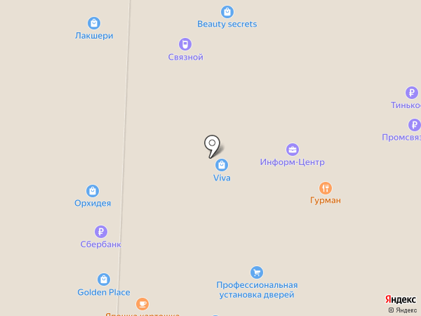 Салон экспресс-маникюра на карте Стерлитамака