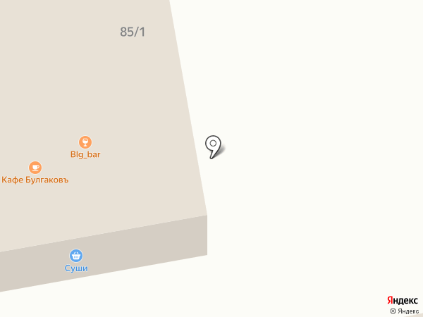 Визит на карте Булгаково