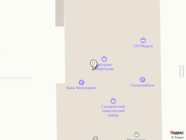 Мономер на карте Салавата