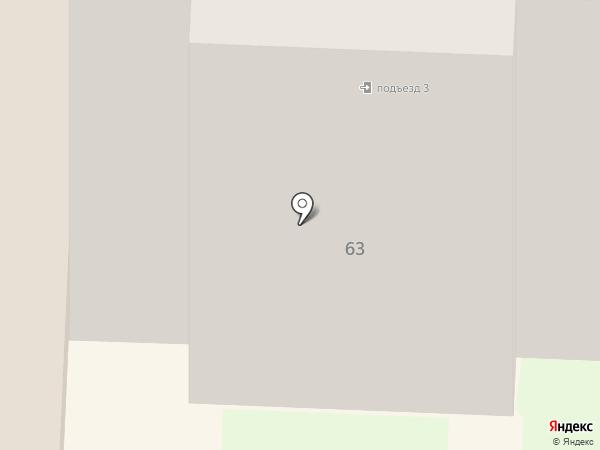 Чебаркульская птица на карте Стерлитамака