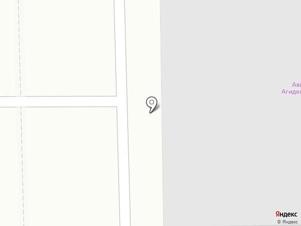 АГИДЕЛЬ-СПУТНИК на карте Салавата