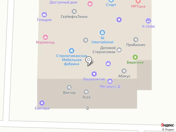 Континент на карте Стерлитамака