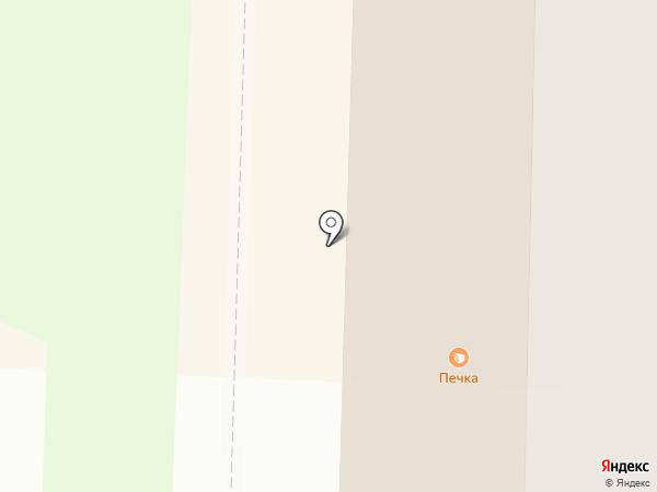 Печка на карте Стерлитамака