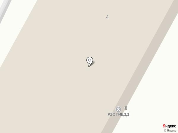 Регистрационно-экзаменационный отдел ГИБДД на карте Стерлитамака