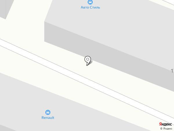 Сеть магазинов автотоваров на карте Стерлитамака