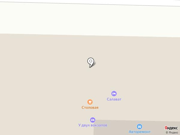 Авторемонтная мастерская на карте Салавата