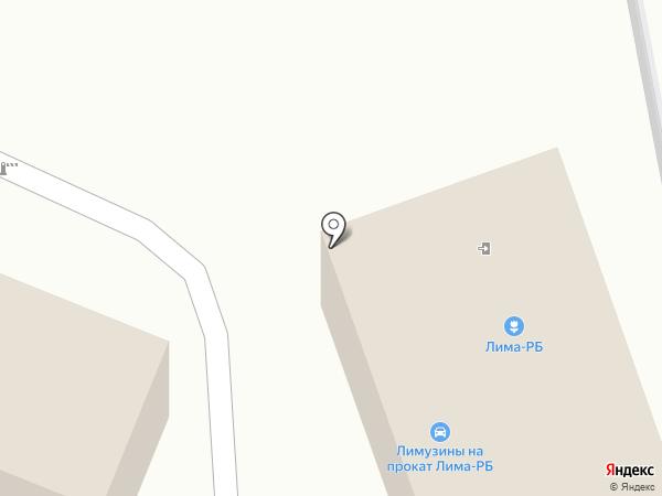 Акбузат на карте Стерлитамака