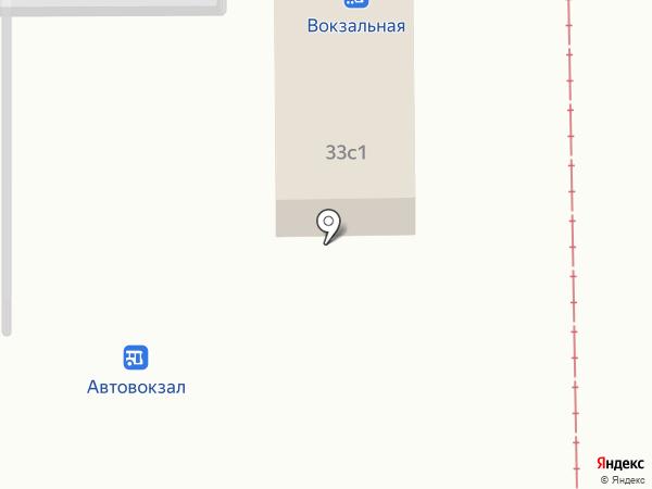 Киоск по продаже фастфудной продукции на карте Салавата