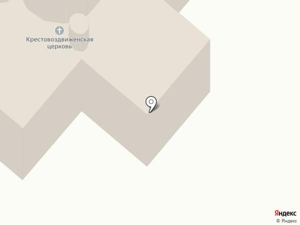 Крестовоздвиженский храм на карте Уфы