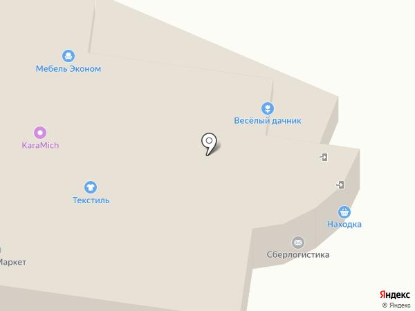 Находка на карте Уфы