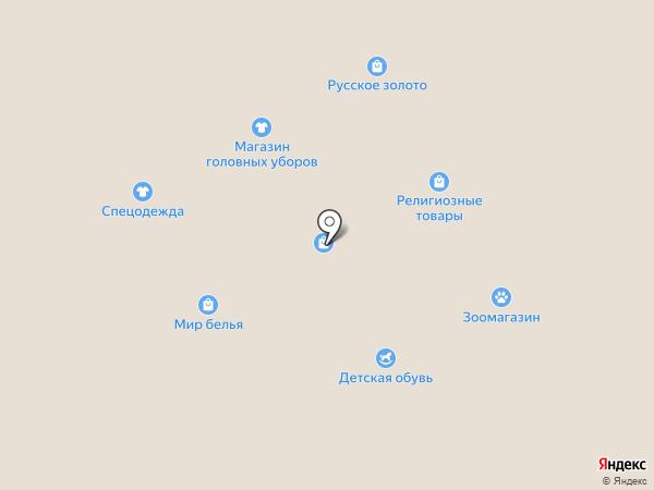 Магазин верхней одежды на карте Салавата