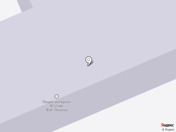 Стерлитамакский лицей-интернат №2 им. В.И. Ленина на карте Стерлитамака