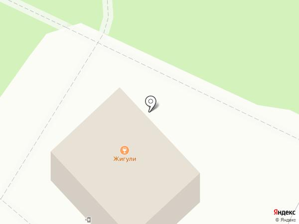 Жигули на карте Уфы