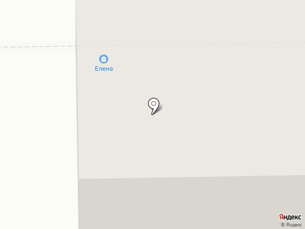 Елена на карте Салавата