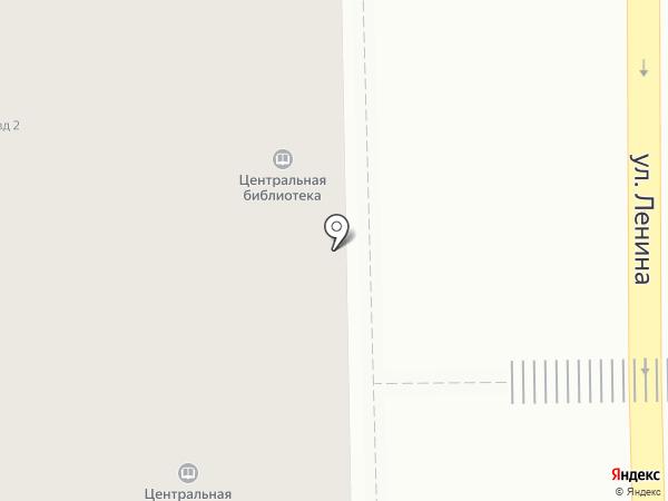 Централизованная библиотечная система на карте Салавата