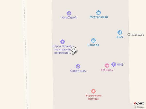 Советник на карте Салавата