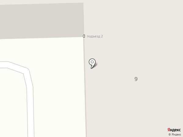 Рыжик на карте Салавата