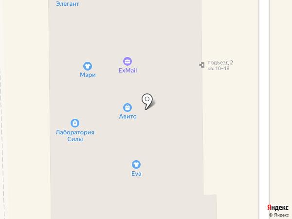 Ева на карте Салавата