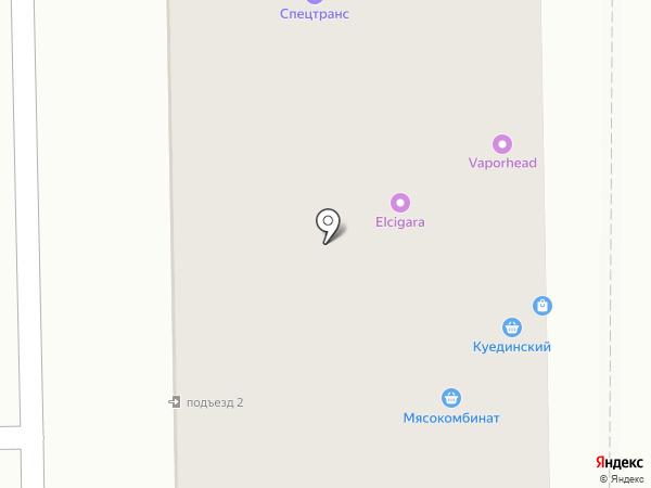 Рубин на карте Салавата