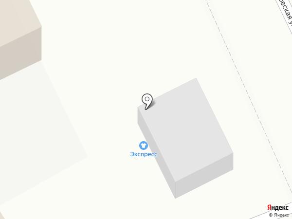 Экспресс на карте Стерлитамака