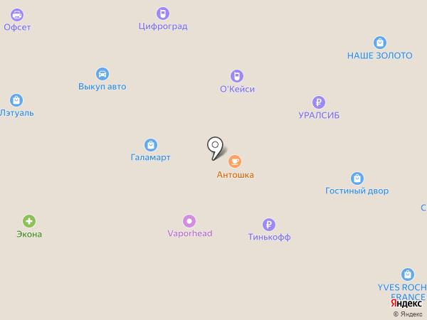 IZEL на карте Салавата