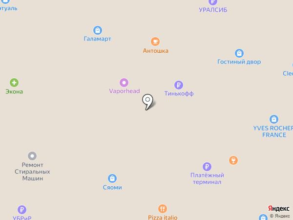 Сеть магазинов на карте Салавата