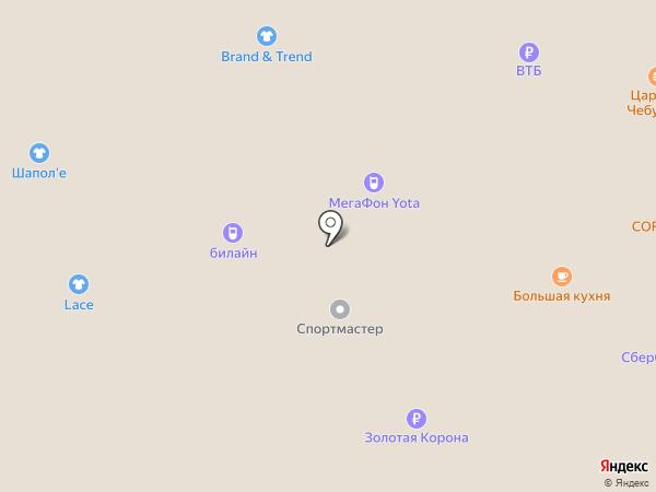 Викинг Белт на карте Салавата