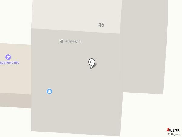 Новый Клуб на карте Салавата