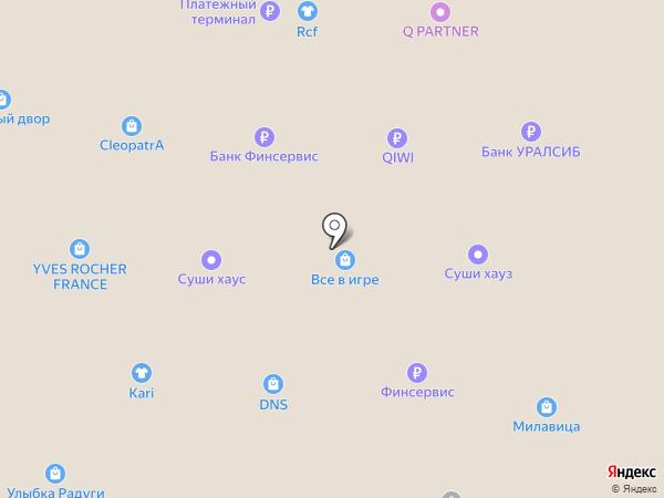 Котофей на карте Салавата