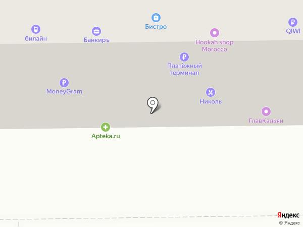 Семёрочка на карте Салавата