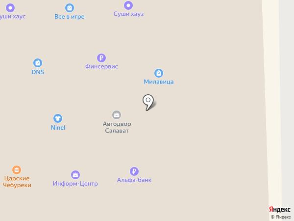 Платежный терминал, Инвесткапиталбанк СМП Банк на карте Салавата