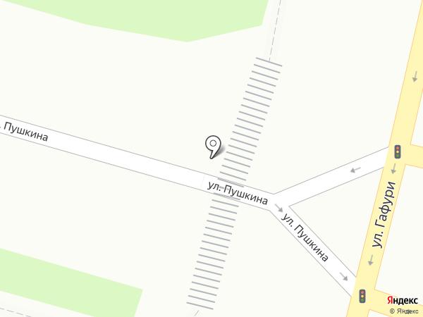 Лото-Сервис на карте Уфы