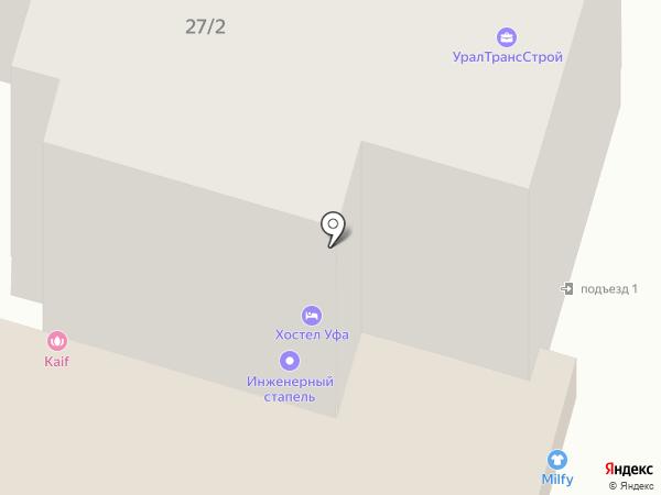 ГородN на карте Уфы