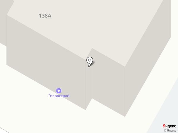 Гипрострой на карте Стерлитамака